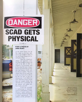 SCAD Gets Physical