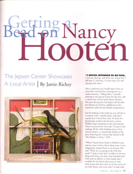 Getting a Bead on Nancy Hooten