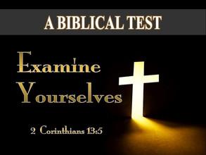 A Biblical Test of Salvation