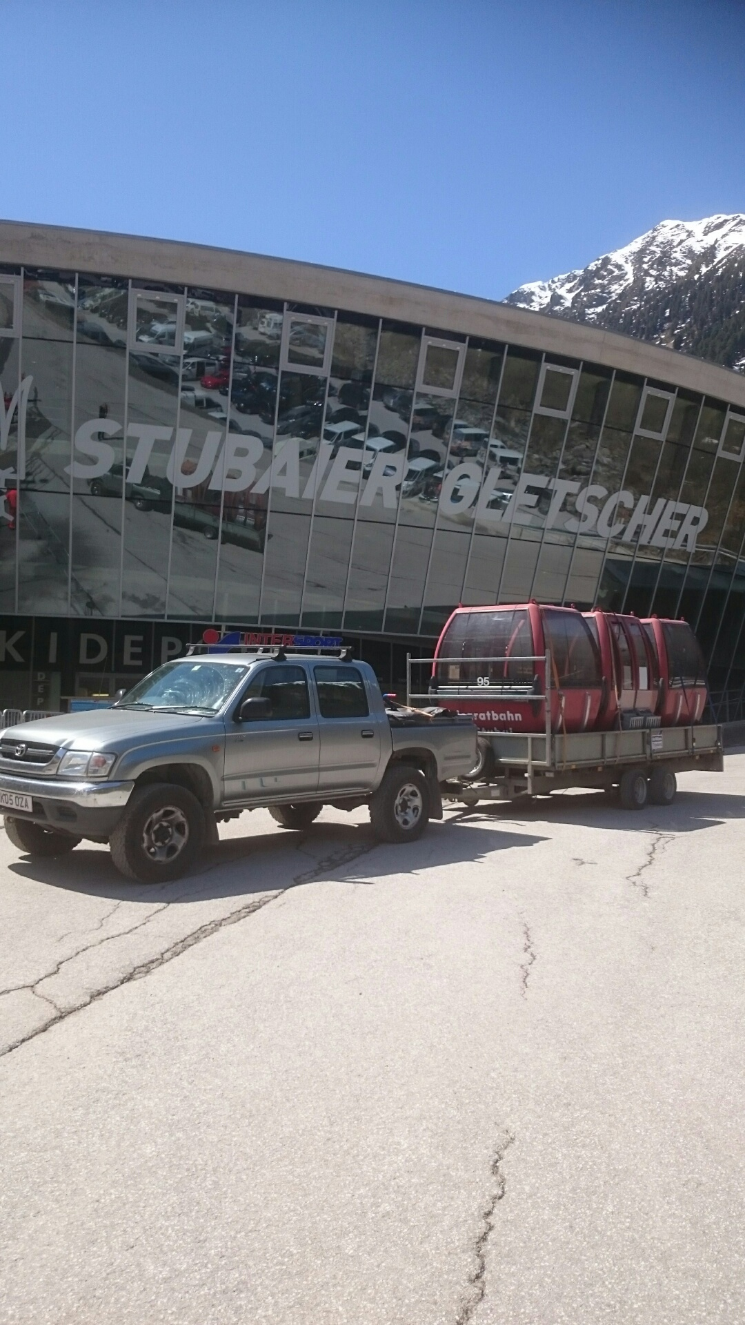 Truck Trailer Stubai