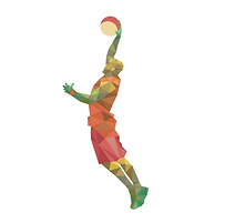 basketball-player-polygon-drawing_23-214