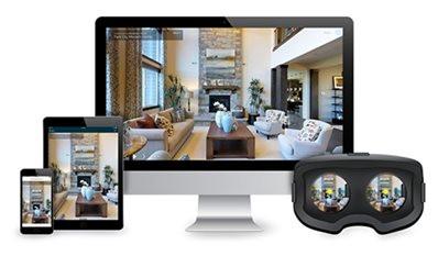 3D Виртуална разходка спестява огледа на апартамент