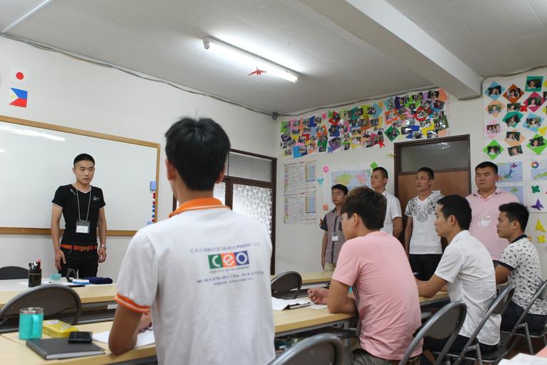 7月7日 中国人実習生5名入寮いたしました