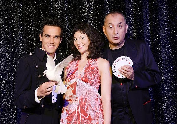 Luca Bono e Marco Aimone con Sabrina Ian