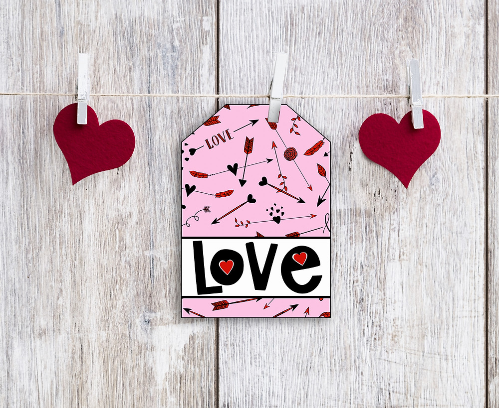 Printable Valentine's Day Gift Tag