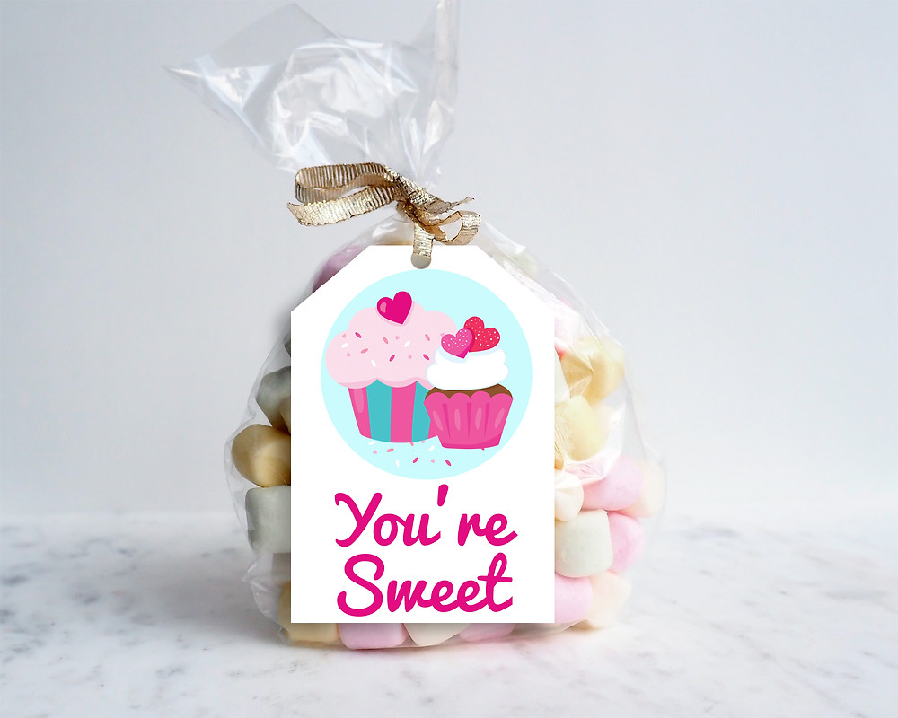 You're Sweet Printable Gift Tag