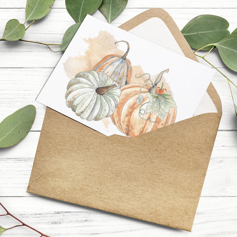 Fall Note Card
