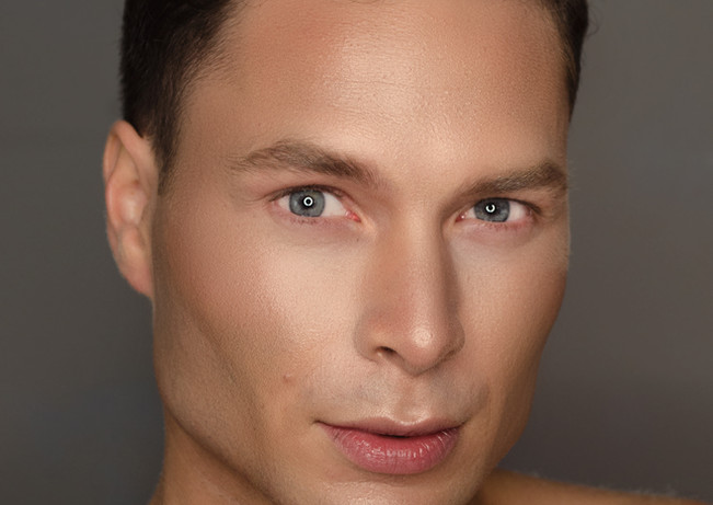 Makeup + Photography Haroz Model Peter Corner