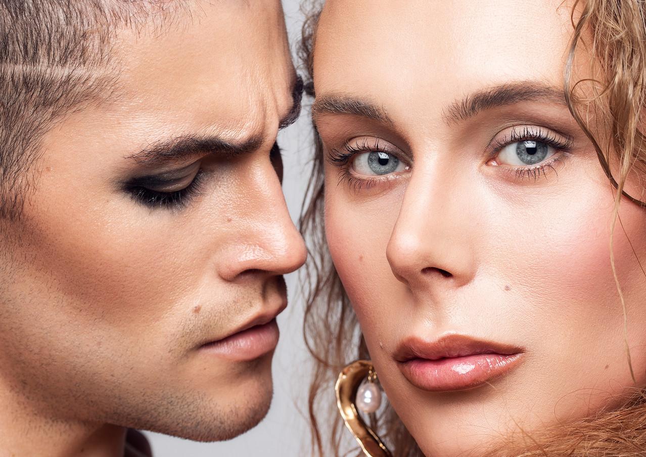 Makeup Haroz Photography Sanne Grasdijk Model Jody Rouwenhorst X Pedro