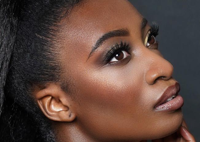 Makeup Haroz Photography Ben Ernst Model Bisola