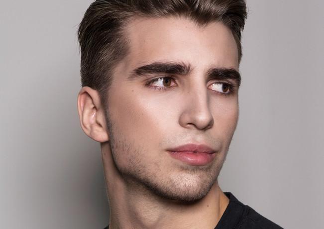 Makeup Haroz Photography JR Model Management Model Luuk