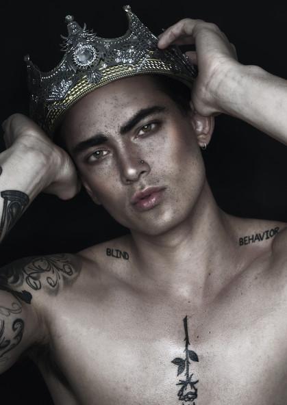 Makeup + Photography Haroz Model Dennis van Asselt