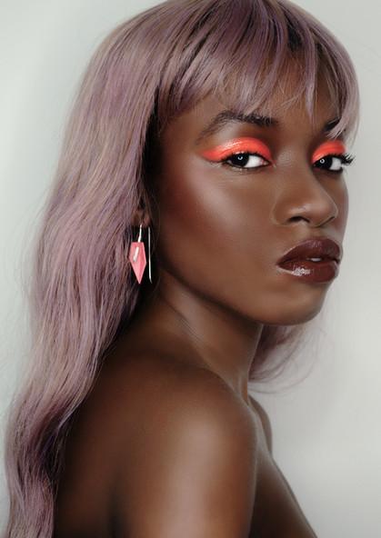 Makeup + Photography Haroz Model Elizabeth Theodule
