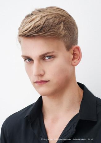 Makeup Haroz Photography JR Model Management Model Julian Hoekstra