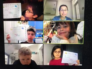 February Fun French e-day camps Et Patati Patata, Bravo les enfants !
