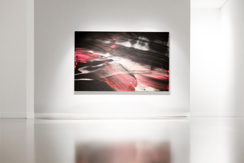 """Art.""""WHIPLINES, WATERFALLS AND WORMS"""", une exposition du légendaire artiste Ed Moses."""