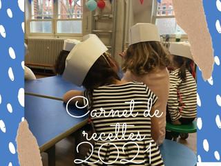 Découvrez notre tout nouveau projet : le carnet de recettes de nos élèves !