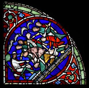 Art. L'histoire saisissante du meurtre de Thomas Becket. The british Museum