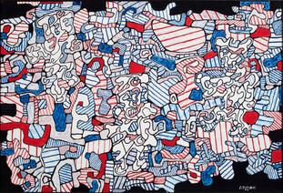 «Jean Dubuffet :Brutal Beauty» une exposition du célèbre artiste français. Barbican Art Gallery.