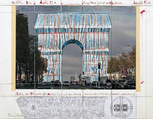 « L'Arc de Triomphe, Wrapped », un projet de longue date qui verra le jour en septembre 2021.
