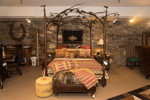 Cowboys and Indians Custom Beds