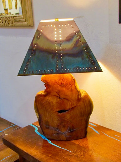 Cowboys and Indians Table Lamps