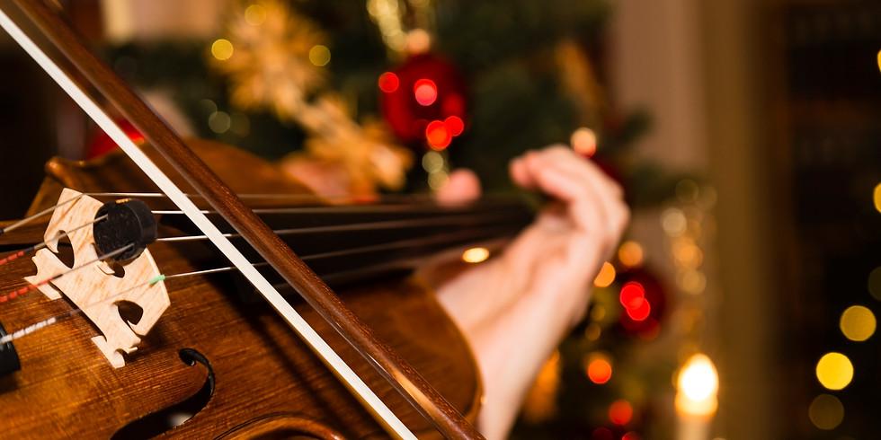 2019 Violin Christmas Concert at Wake Forest Baptist Hospital
