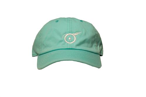 Evil Eye Dad Hat ( Tiffany Blue)