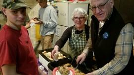 Volunteers Serve Up Their Best