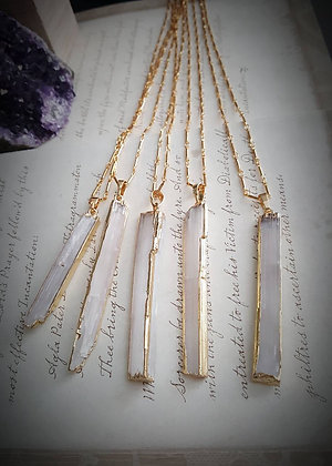 Crystal Necklace - Selenite