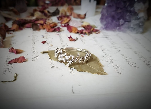 Sterling Silver Magick Ring