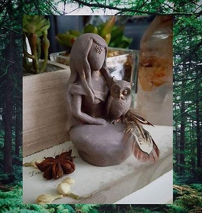 Mini Nature Goddess Statue