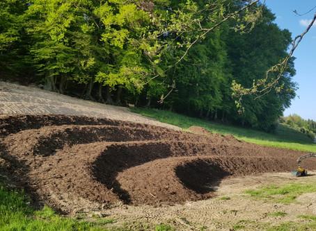 Gewürz- und Heilkräuteranbau - Der Aufbau / Spice and medicinal herb cultivation - the structure