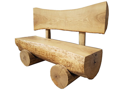 Holzbank/ Horsemade wooden bench