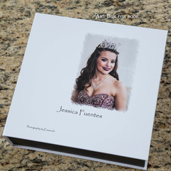 Art box for Quinceanera
