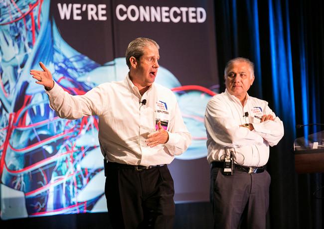 Photos of keynote speakers