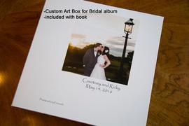 Art box for wedding book