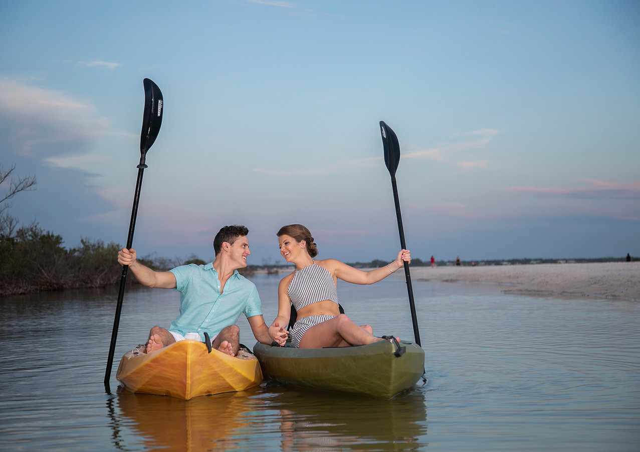 Date on a Kayak
