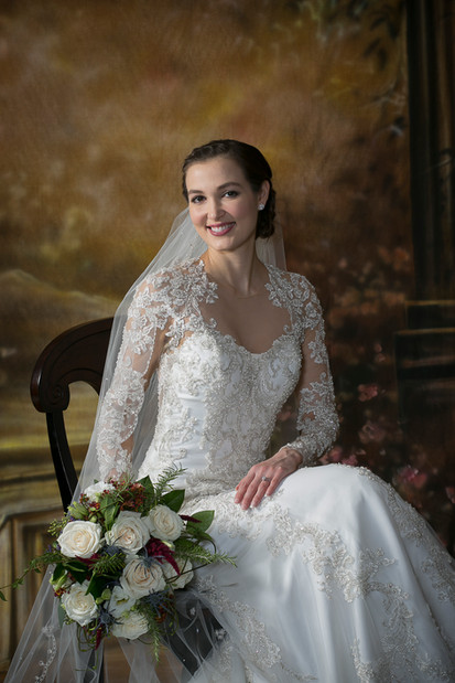 Pre-wedding  bridal portrait