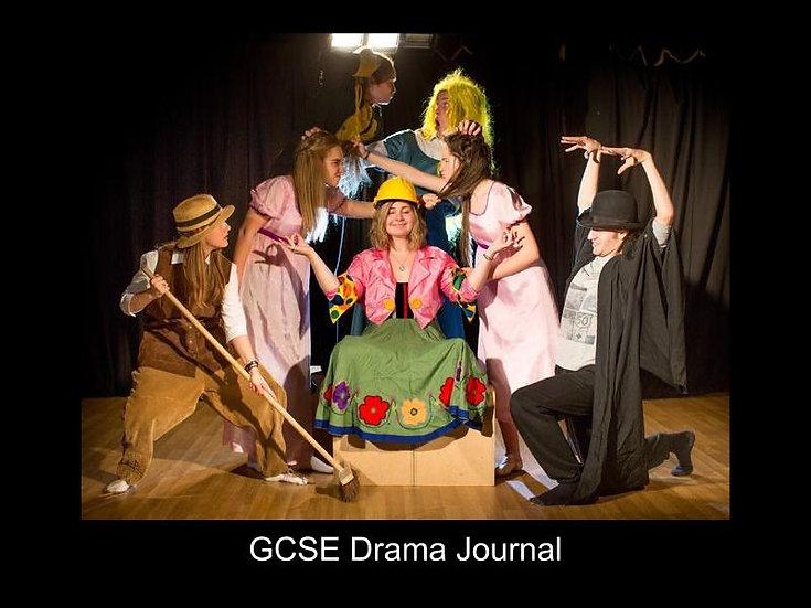 GCSE Drama Journal