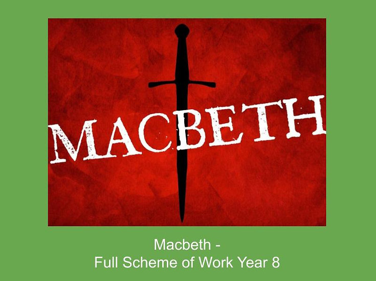 Macbeth 'The 3 Witches'