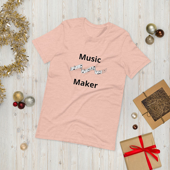Music Maker Short-Sleeve Unisex T-Shirt