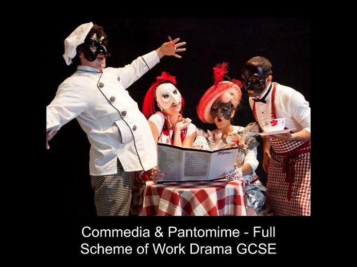 GCSE Drama - Commedia & Pantomime