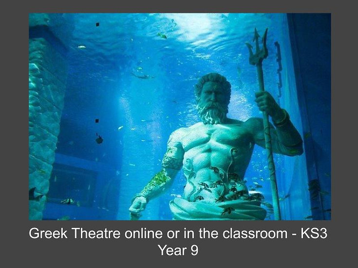 Greek Theatre Online or in the Classroom