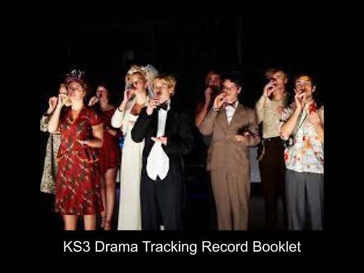 KS3 Drama Tracking Record Booklet