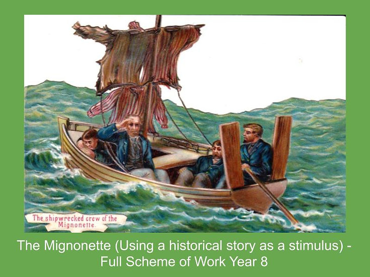 The Mignonette (Using a historical story as a stimulus)