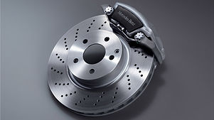 Mercedes-Benz Brake Disc and Caliper