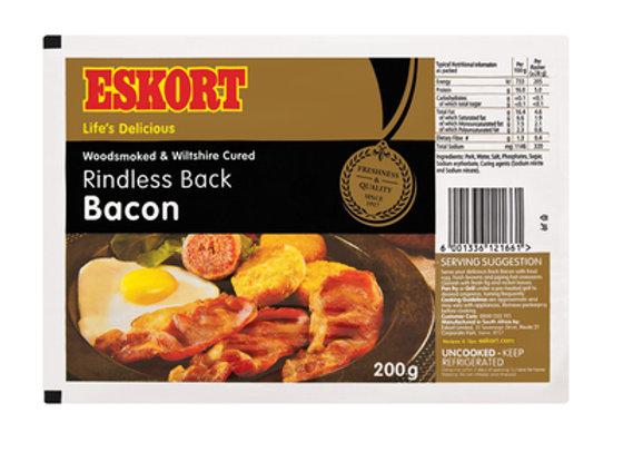 Eskort Back Bacon - 200g