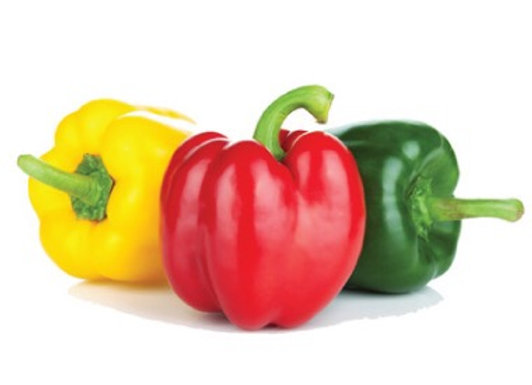 Robot Peppers (1 green, 1 red & 1 yellow)
