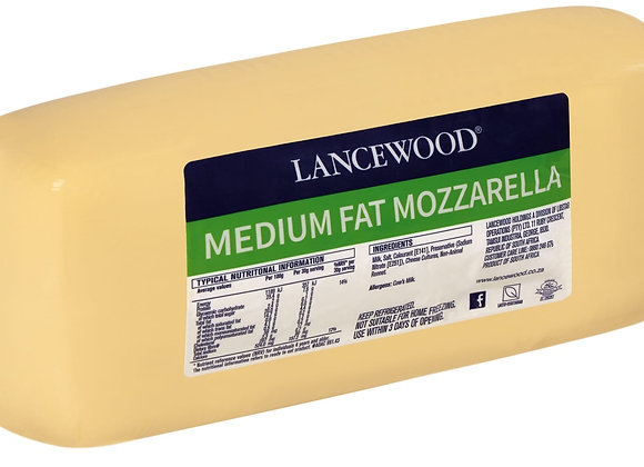 Mozzarella Cheese - Loaf